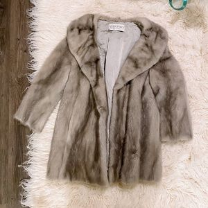 gorgeous genuine fur coat